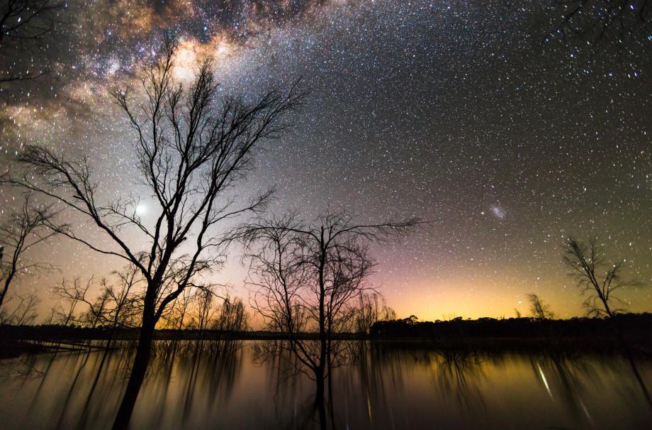 Milky Way & Twilight