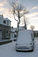 Snow in Aberdeen  January, 2004