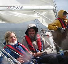 West Coast Sailing Challenge August 28-29, 2004
