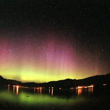 Ballachulish Aurora  April 19th, 2002